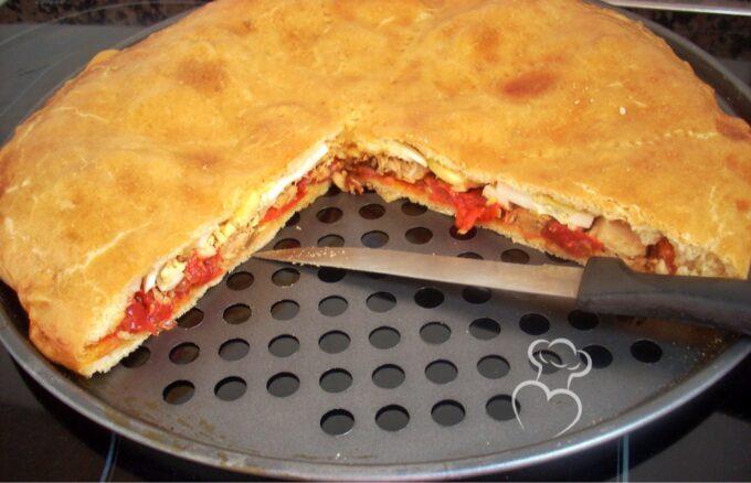 Empanada clásica tipo gallega
