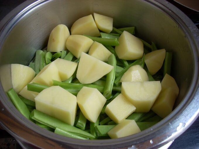 Patata judias pimentón