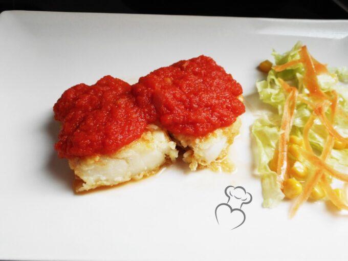 Bacalao con tomate receta clásica