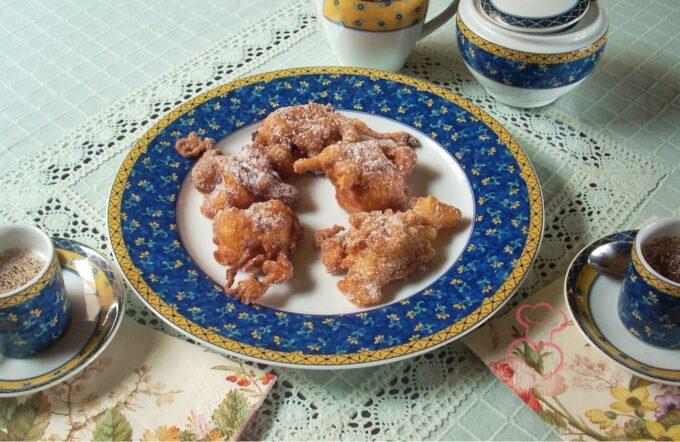 Buñuelos fritos paraíso tía Toni
