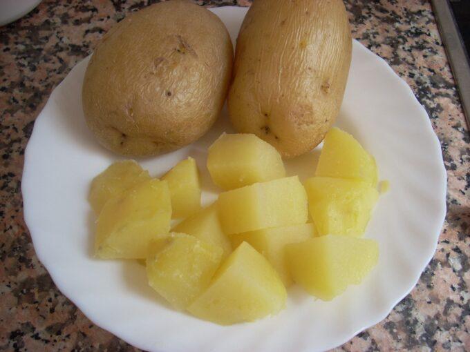 Salteado patatas ajo romero