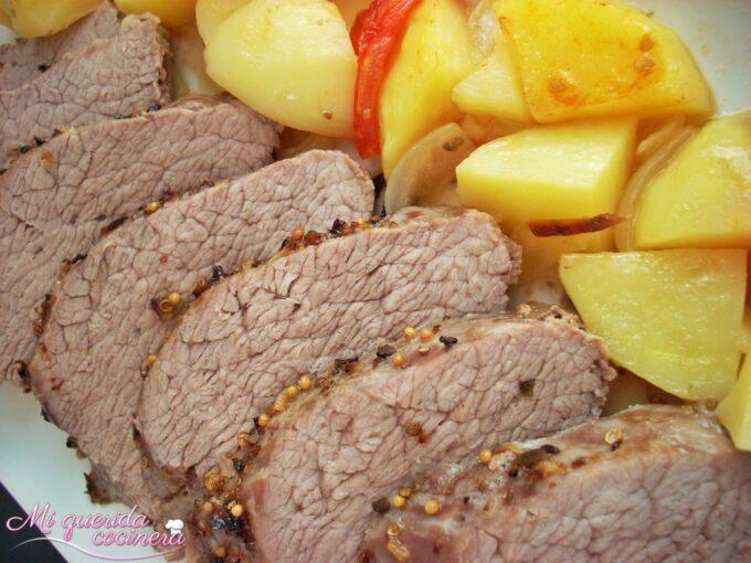 Asado de carne para cuatro recetas