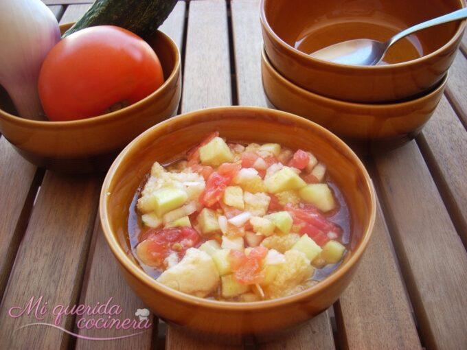Gazpacho tradicional de la abuela