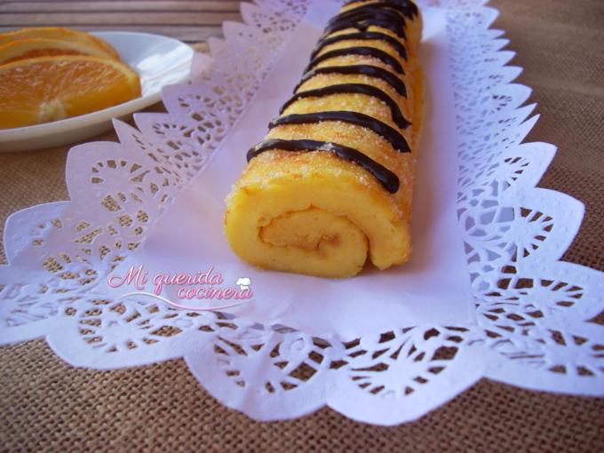 Brazo de naranja receta portuguesa