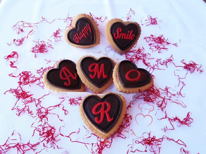 Chocolatinas con galleta Silikomart