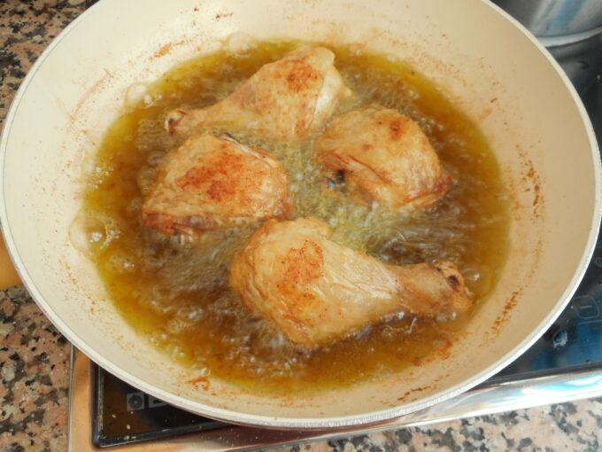muslitos de pollo