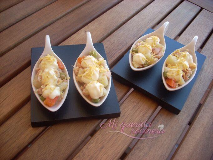 Ensalada de patata o ensaladilla