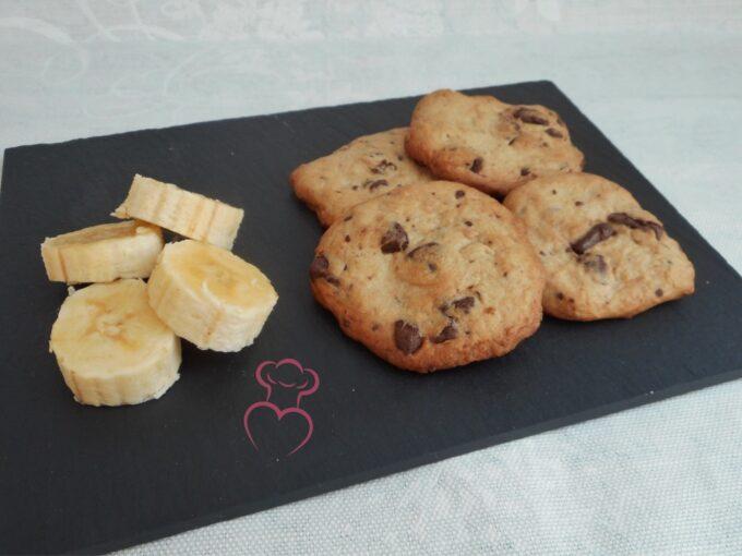 Pastitas de plátano con chocolate