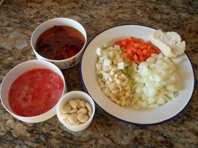 Tapilla en salsa de almendra