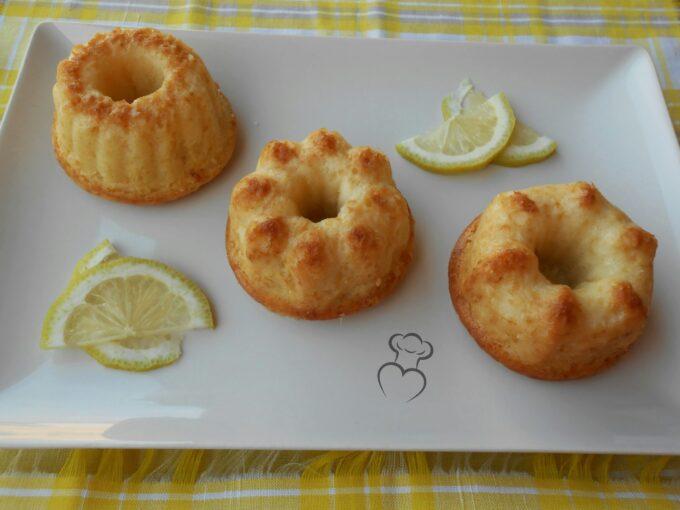 Bizcochitos de limón borrachos