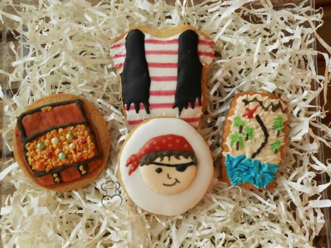 galletas decoradas de piratas