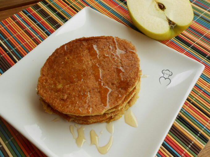 Tortitas de avena y manzana sin azúcar