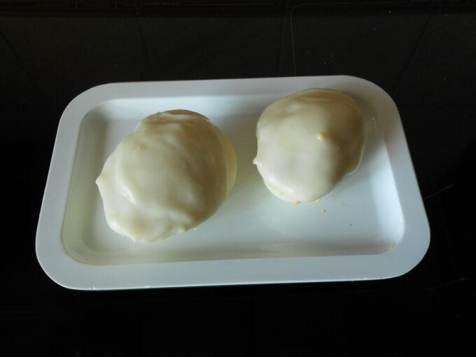 Huevos rellenos con chorizo