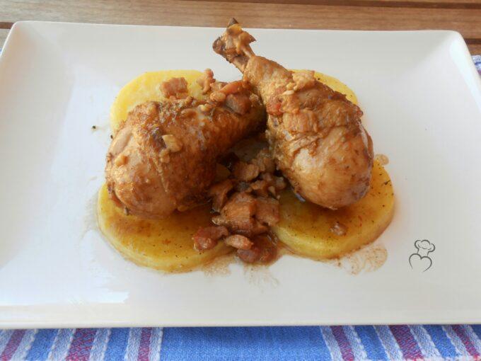 Pollo al vinagre balsámico de Módena
