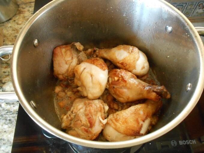 Pollo al vinagre balsámico