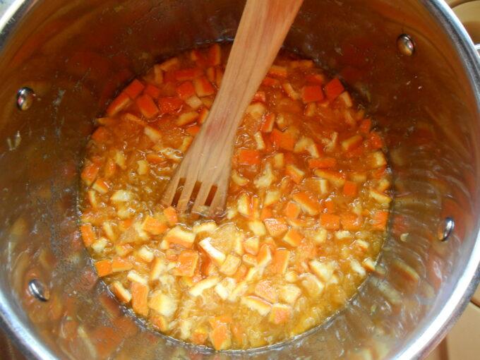Mermelada de naranjas dulces