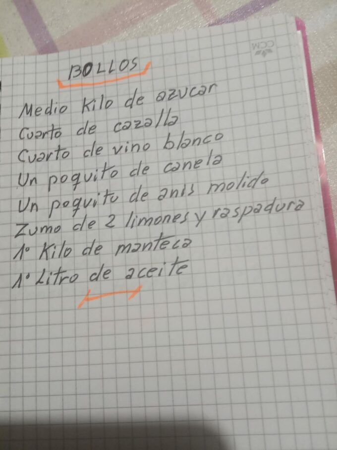 Bollos castellanos